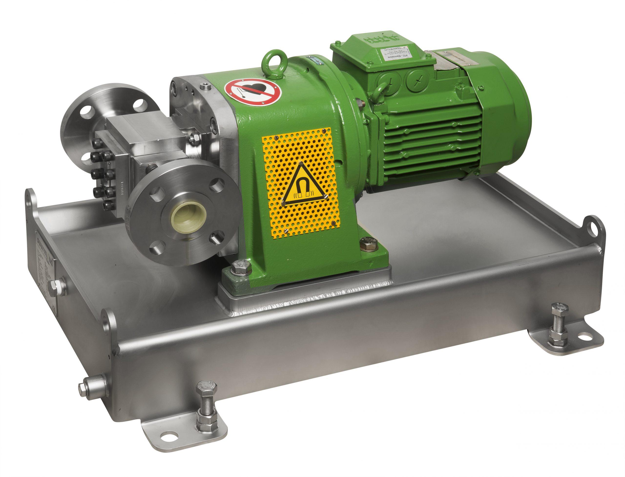 Pump unit for